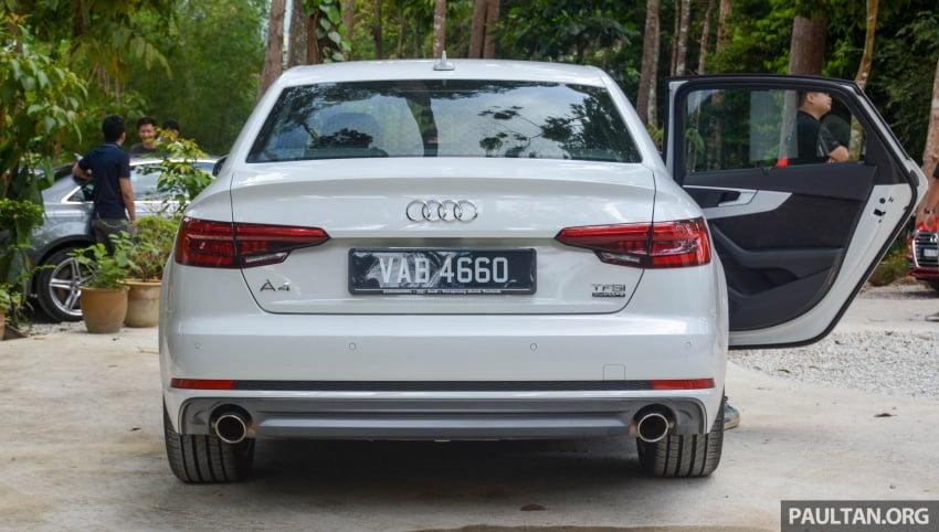 DRIVEN: B9 Audi A4 – 1.4 TFSI, 2.0 quattro sampled Image #666251