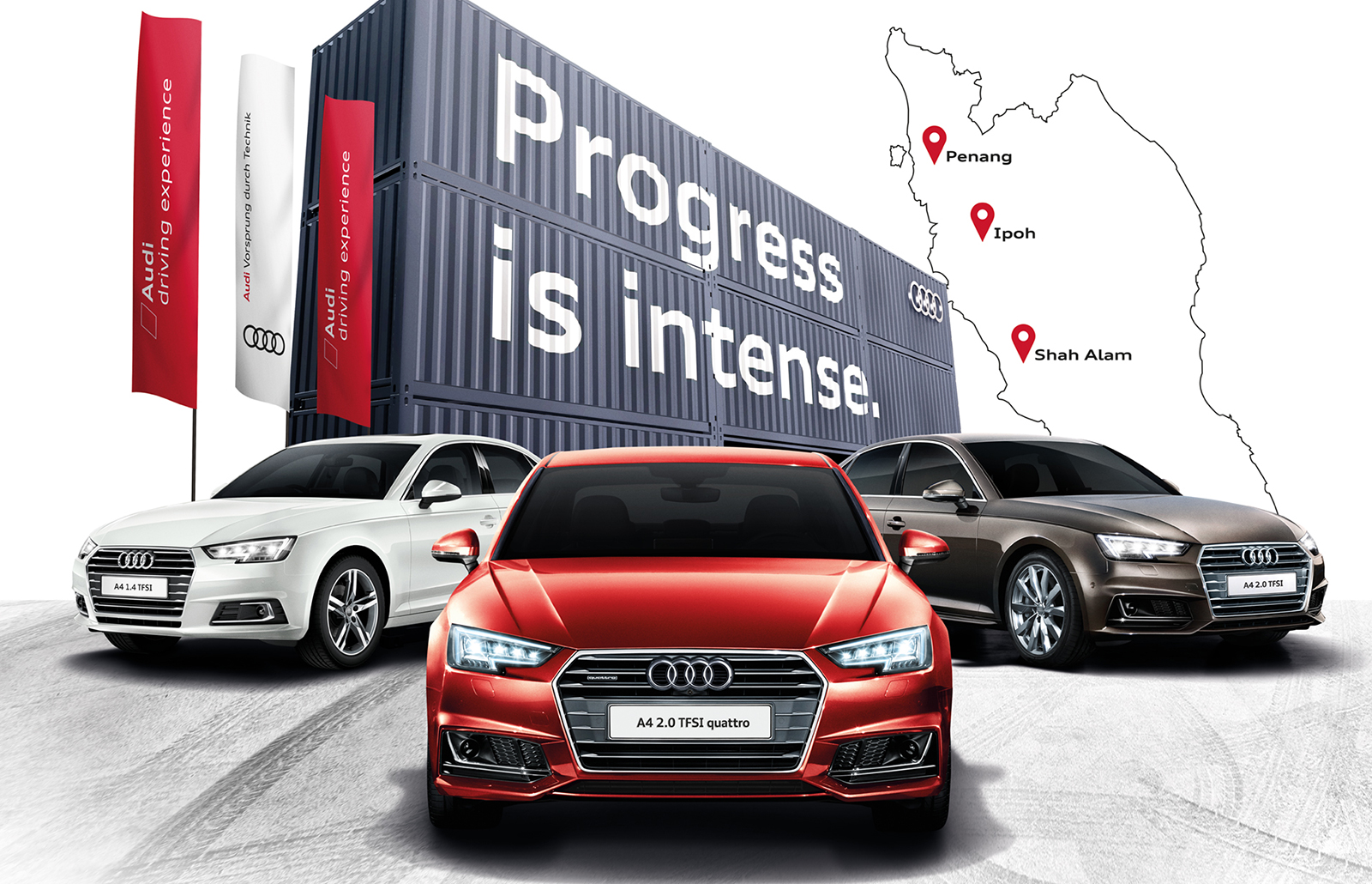 Audi A4 Intencity Roadshow Showcases New Variants Image 659157