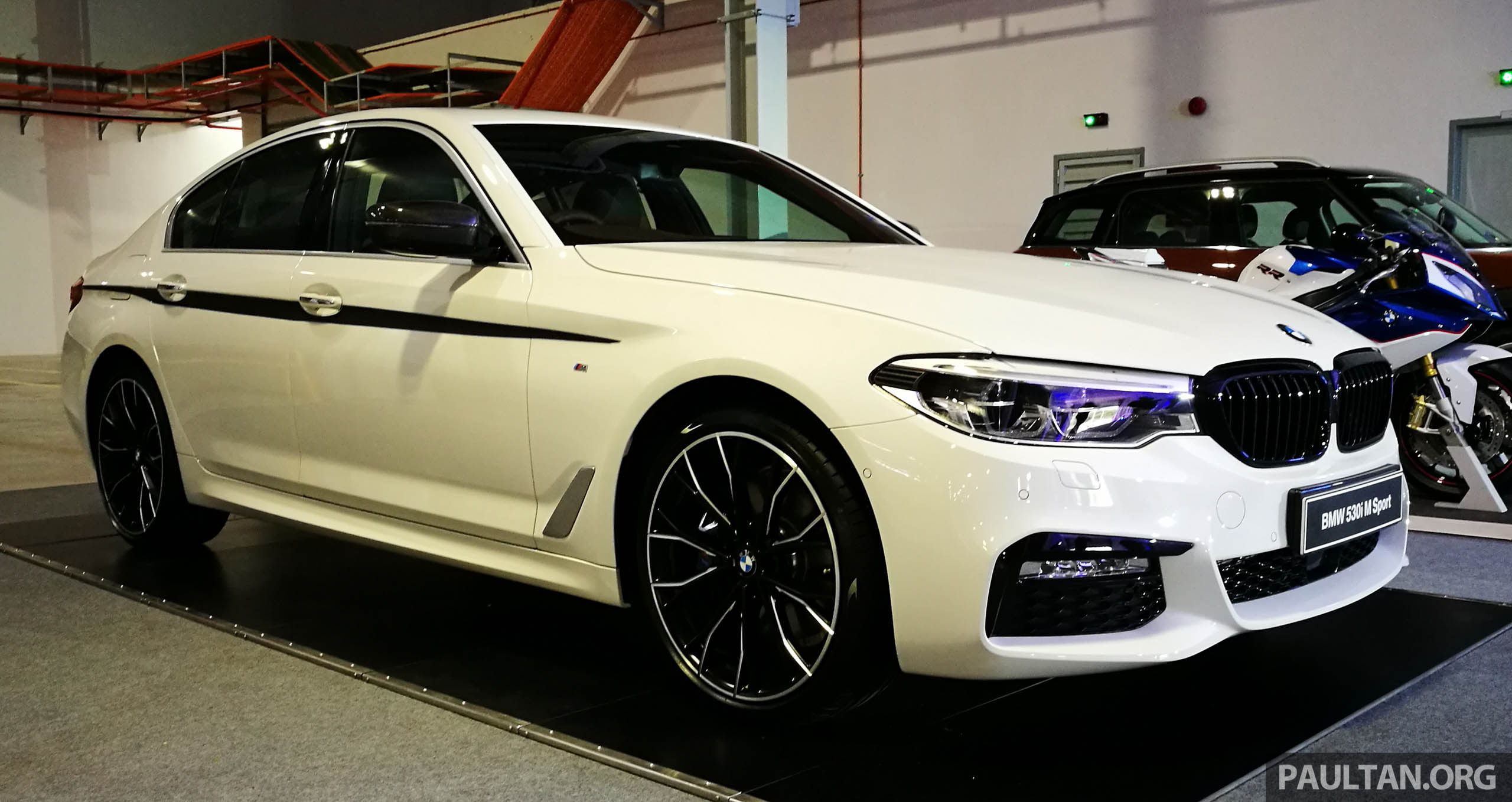 Galeri Bmw 530i G30 M Performance Kini Di M Sia Paul Tan