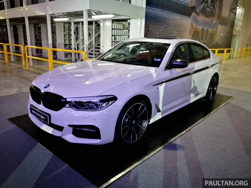 GALLERY: G30 BMW 530i M Performance in Malaysia Paul Tan ...