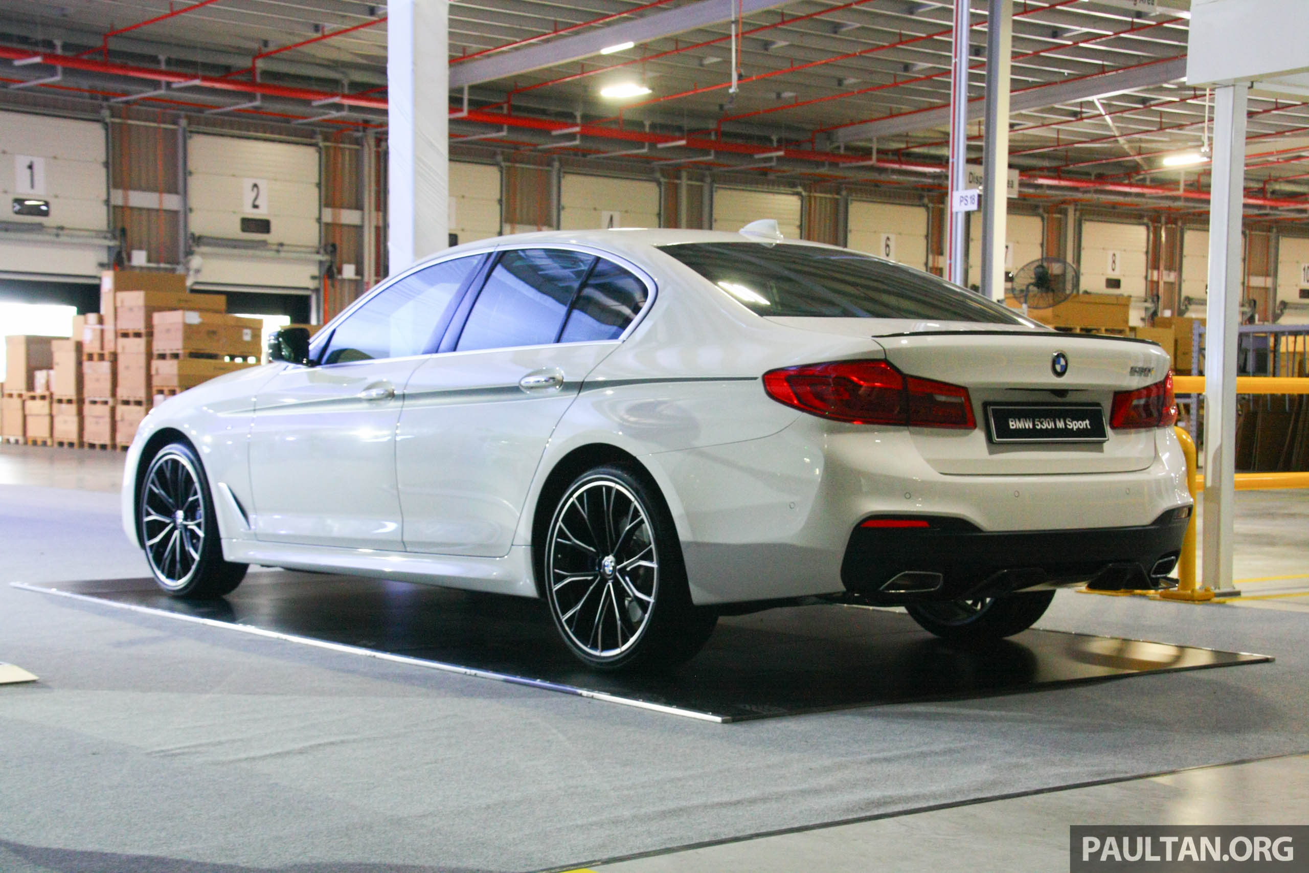 GALLERY: G30 BMW 530i M Performance in Malaysia Image 658547