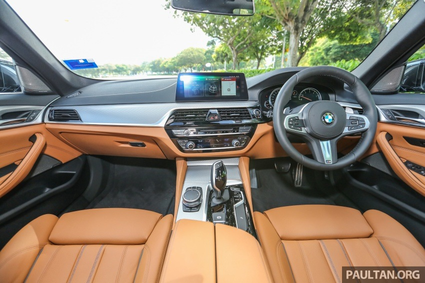 FIRST DRIVE: G30 BMW 530i M Sport video review Image #665797