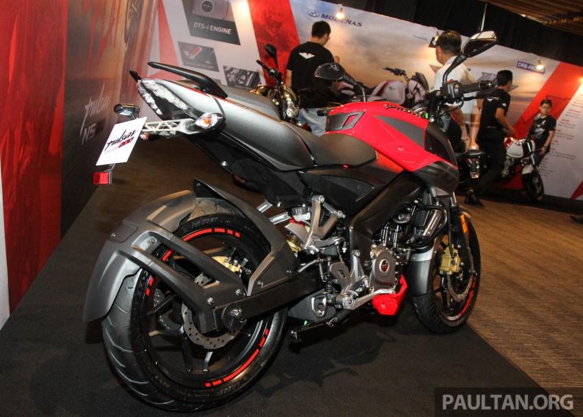 Modenas Pulsar RS200 dan NS200 dilancarkan – enjin 199.5 cc, 24.5 PS dan 18.6 Nm, harga dari RM9,222 Image #660776