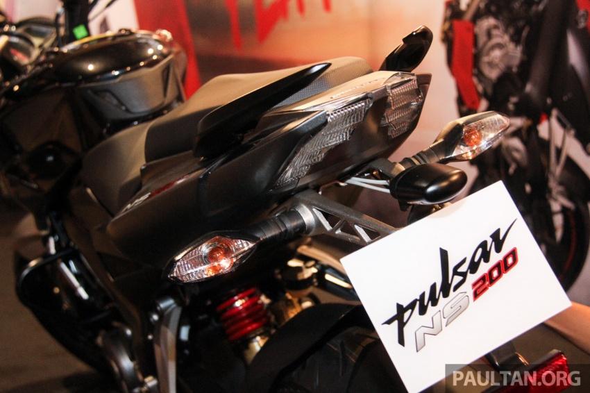 Modenas Pulsar RS200 dan NS200 dilancarkan – enjin 199.5 cc, 24.5 PS dan 18.6 Nm, harga dari RM9,222 Image #660782