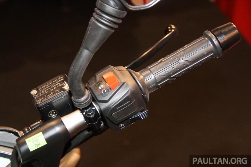Modenas Pulsar RS200 dan NS200 dilancarkan – enjin 199.5 cc, 24.5 PS dan 18.6 Nm, harga dari RM9,222 Image #660784