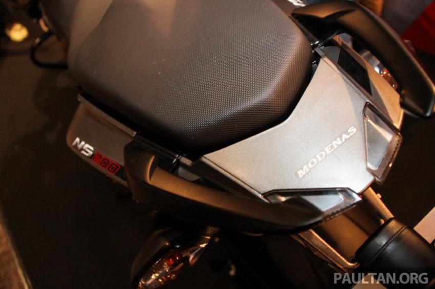 Modenas Pulsar RS200 dan NS200 dilancarkan – enjin 199.5 cc, 24.5 PS dan 18.6 Nm, harga dari RM9,222 Image #660787