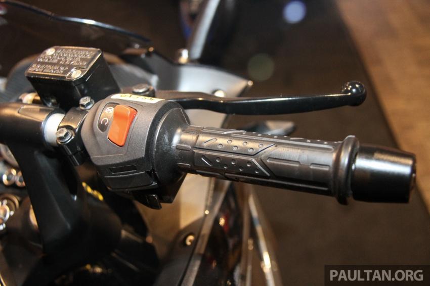 Modenas Pulsar RS200 dan NS200 dilancarkan – enjin 199.5 cc, 24.5 PS dan 18.6 Nm, harga dari RM9,222 Image #660827