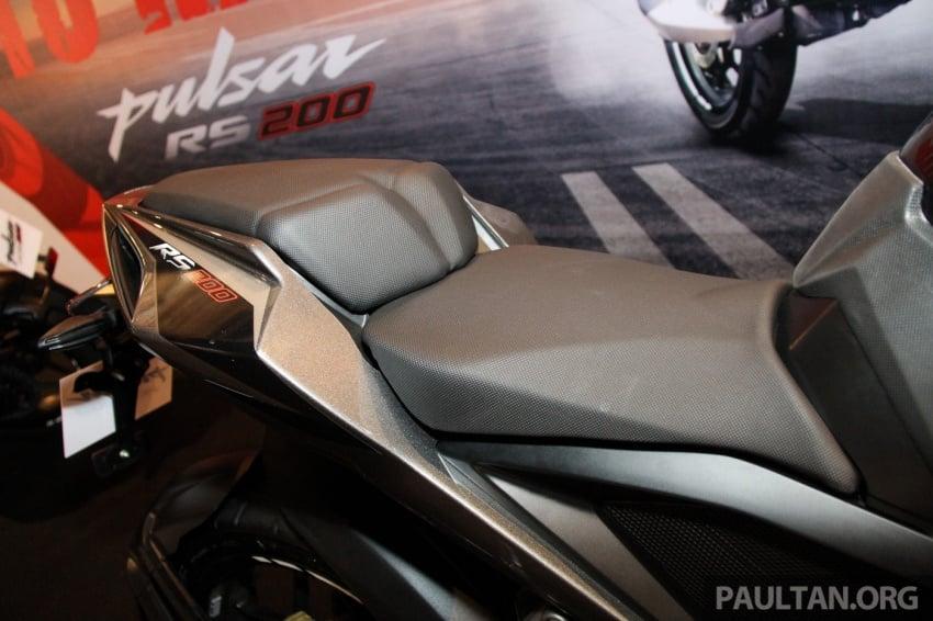 Modenas Pulsar RS200 dan NS200 dilancarkan – enjin 199.5 cc, 24.5 PS dan 18.6 Nm, harga dari RM9,222 Image #660829