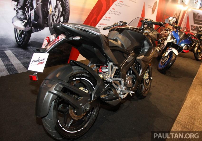 Modenas Pulsar RS200 dan NS200 dilancarkan – enjin 199.5 cc, 24.5 PS dan 18.6 Nm, harga dari RM9,222 Image #660835