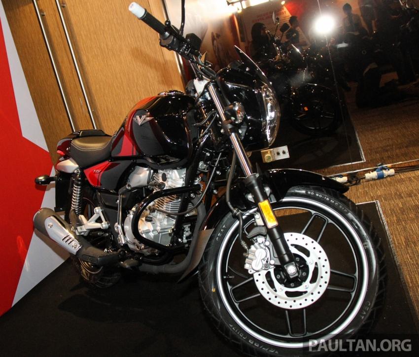 Modenas V15 dilancarkan; 149.5 cc, berharga RM5,989 Image #660923