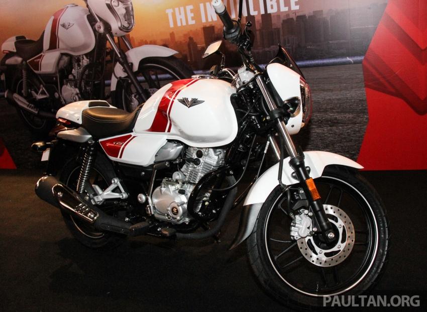 Modenas V15 dilancarkan; 149.5 cc, berharga RM5,989 Image #660924