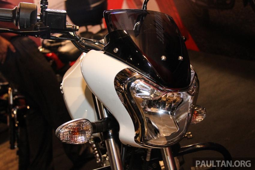 Modenas V15 dilancarkan; 149.5 cc, berharga RM5,989 Image #660925
