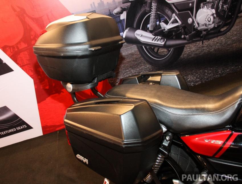 Modenas V15 dilancarkan; 149.5 cc, berharga RM5,989 Image #660928