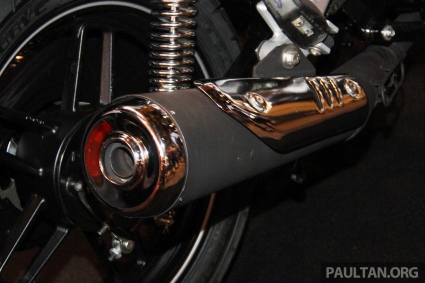 Modenas V15 dilancarkan; 149.5 cc, berharga RM5,989 Image #660930