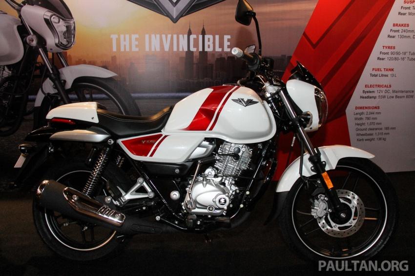 Modenas V15 dilancarkan; 149.5 cc, berharga RM5,989 Image #660908