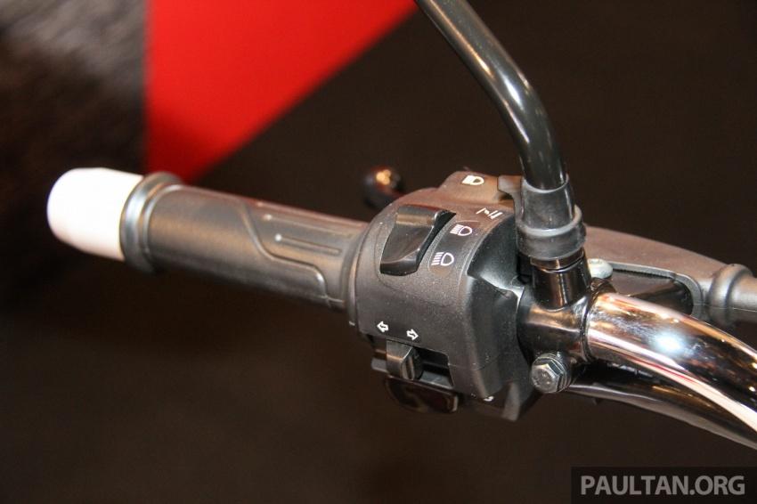 Modenas V15 dilancarkan; 149.5 cc, berharga RM5,989 Image #660934