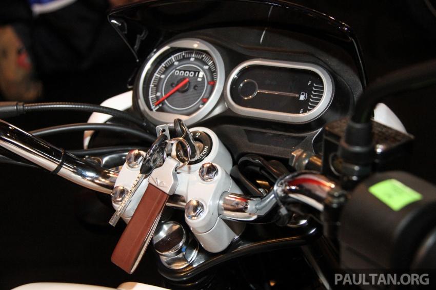 Modenas V15 dilancarkan; 149.5 cc, berharga RM5,989 Image #660937