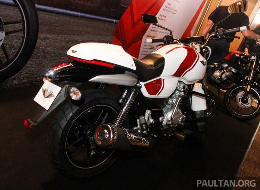 Modenas V15 dilancarkan; 149.5 cc, berharga RM5,989 Image #660949
