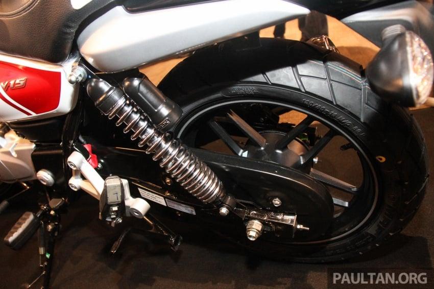 Modenas V15 dilancarkan; 149.5 cc, berharga RM5,989 Image #660953