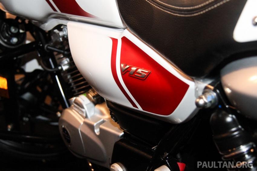 Modenas V15 dilancarkan; 149.5 cc, berharga RM5,989 Image #660954