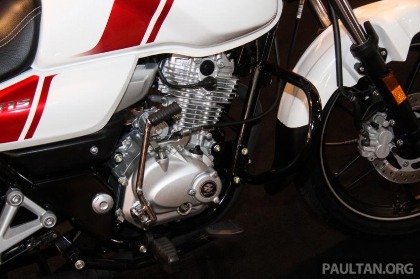 Modenas V15 dilancarkan; 149.5 cc, berharga RM5,989 Image #660910