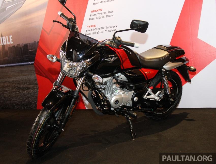 Modenas V15 dilancarkan; 149.5 cc, berharga RM5,989 Image #660955