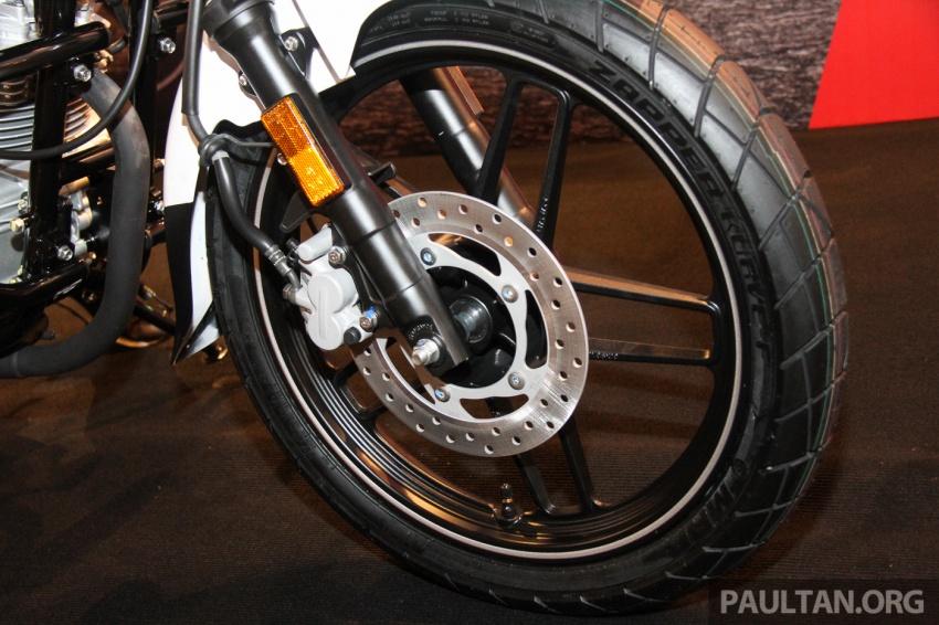 Modenas V15 dilancarkan; 149.5 cc, berharga RM5,989 Image #660919