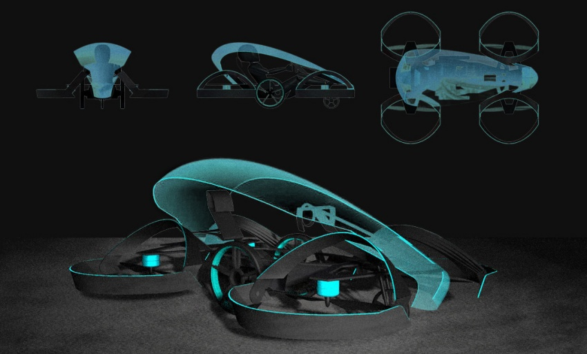 Toyota invests 40 million yen in flying car company Image #659056