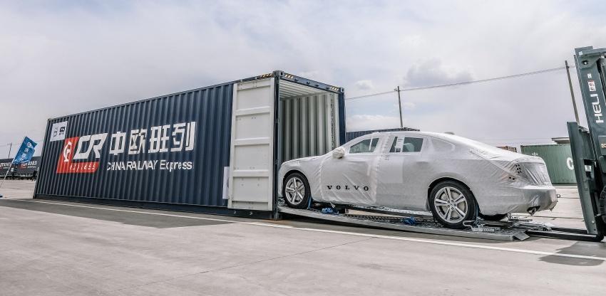 Volvo begins China-built S90 export to Europe via rail Image #666699