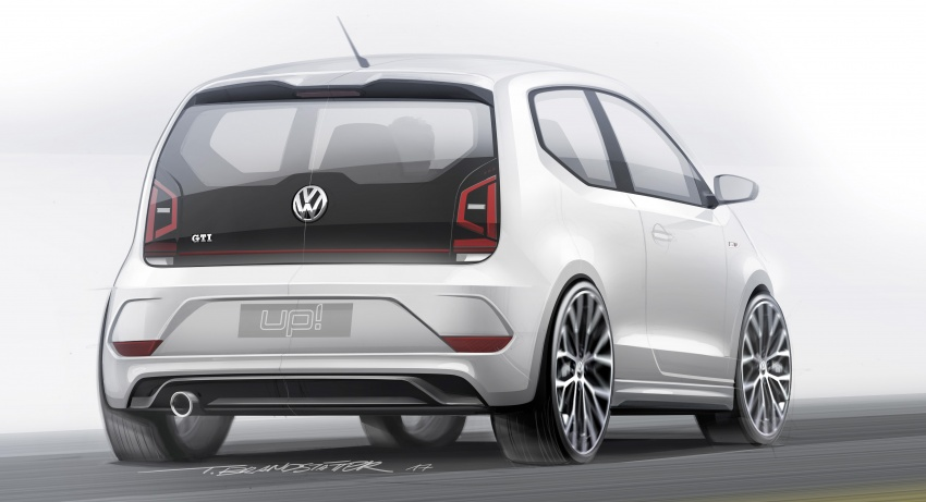 Volkswagen up! GTI concept unveiled – 115 PS 1.0 TSI three-cylinder engine, 997 kg, 0-100 km/h in 8.8 secs Image #661003