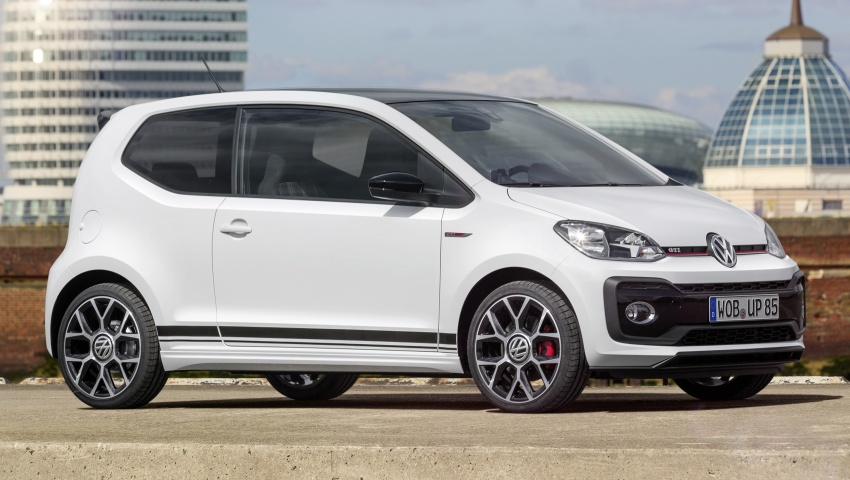 Volkswagen up! GTI concept unveiled – 115 PS 1.0 TSI three-cylinder engine, 997 kg, 0-100 km/h in 8.8 secs Image #661006