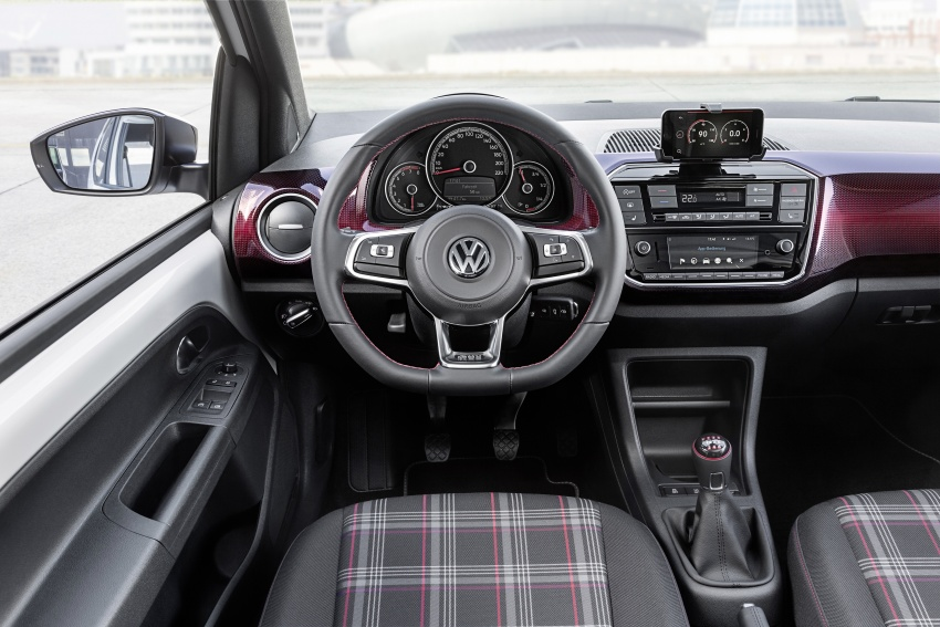 Volkswagen up! GTI concept unveiled – 115 PS 1.0 TSI three-cylinder engine, 997 kg, 0-100 km/h in 8.8 secs Image #661008