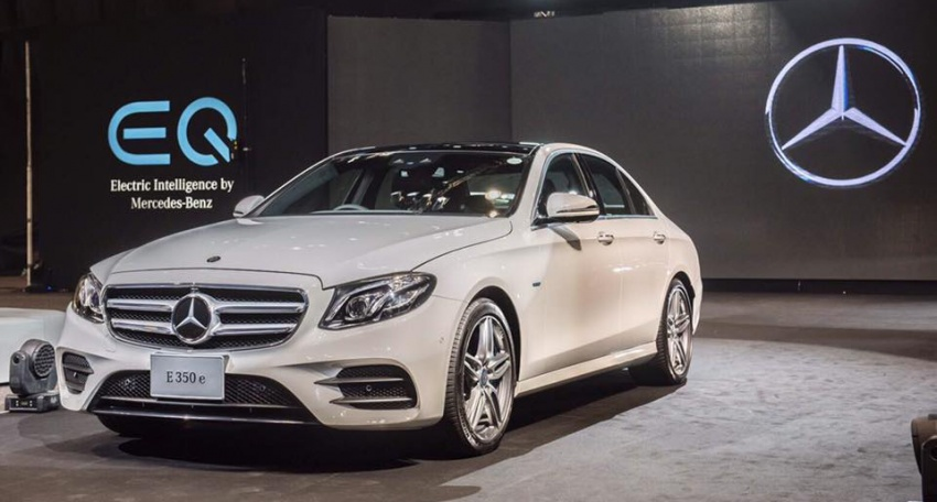 Mercedes-Benz E350e plug-in hybrid launched in Thailand – E220d replacement starts from RM437k Image #659296