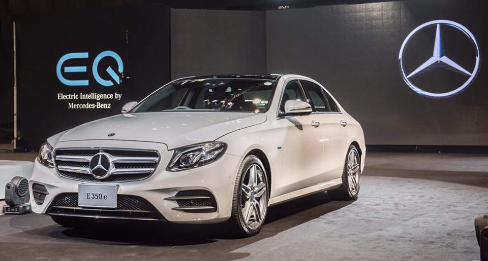 Mercedes benz e350e plug in hybrid launched in thailand for Mercedes benz thailand