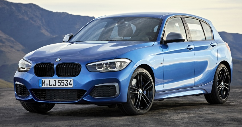 F20 BMW 1 Series gets updated interior, revised kit Image #657787
