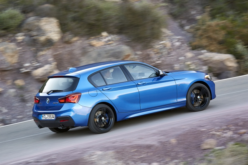 F20 BMW 1 Series gets updated interior, revised kit Image #657803