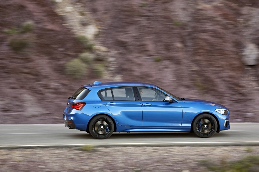 F20 BMW 1 Series gets updated interior, revised kit Image #657804