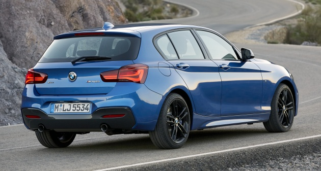 F20 bmw 1 series gets updated interior revised kit for Chrome line exterieur