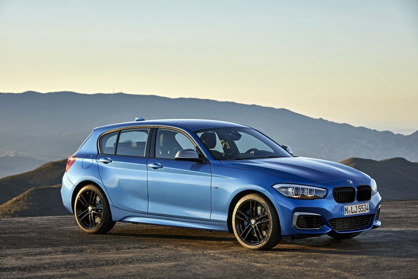 F20 BMW 1 Series gets updated interior, revised kit Image #657811