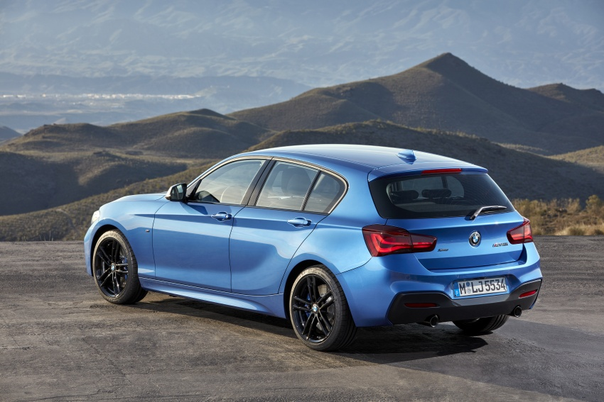 F20 BMW 1 Series gets updated interior, revised kit Image #657813