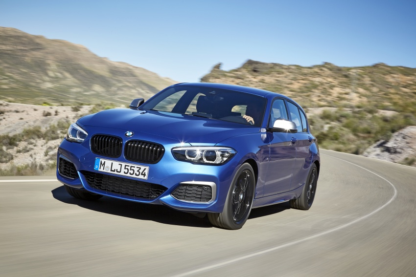 Back to Story: F20 BMW 1 Series gets updated interior, revised kit