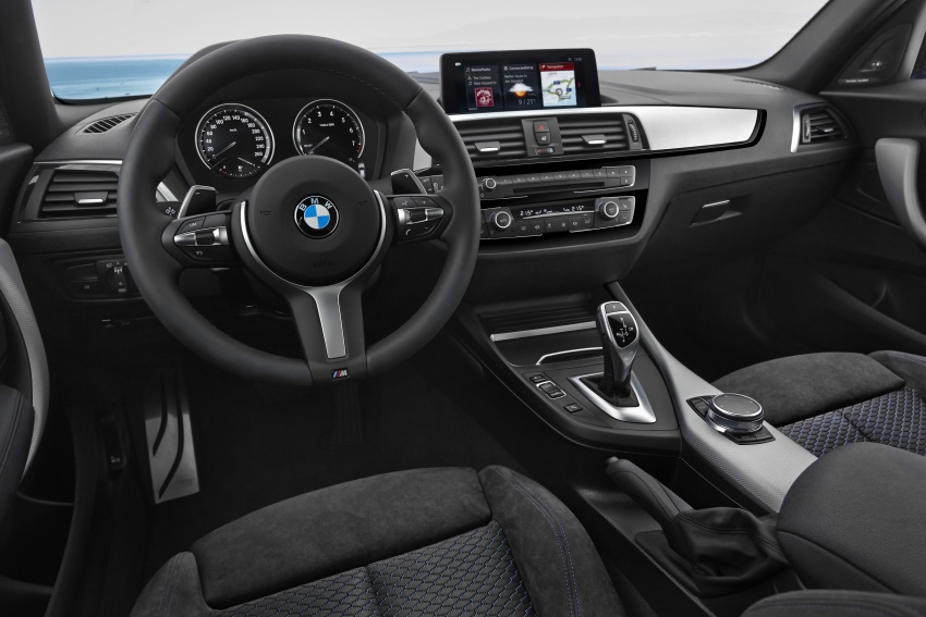 F20 BMW 1 Series gets updated interior, revised kit Image #657818