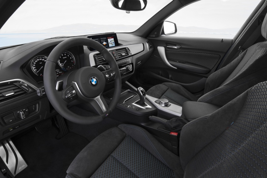 F20 BMW 1 Series gets updated interior, revised kit Image #657825