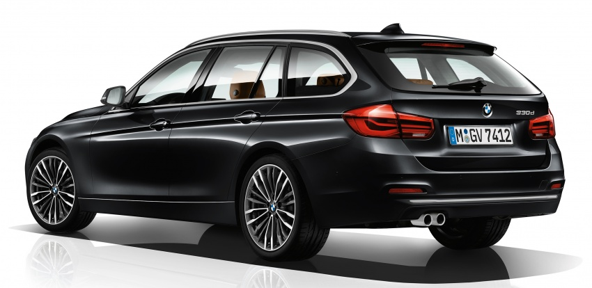 F30 BMW 3 Series enhanced, new edition models Image #657611
