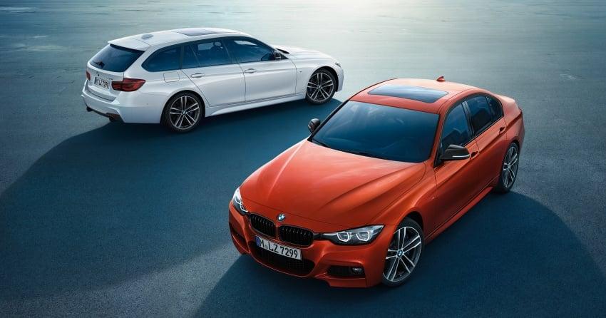 F30 BMW 3 Series enhanced, new edition models Image #657595