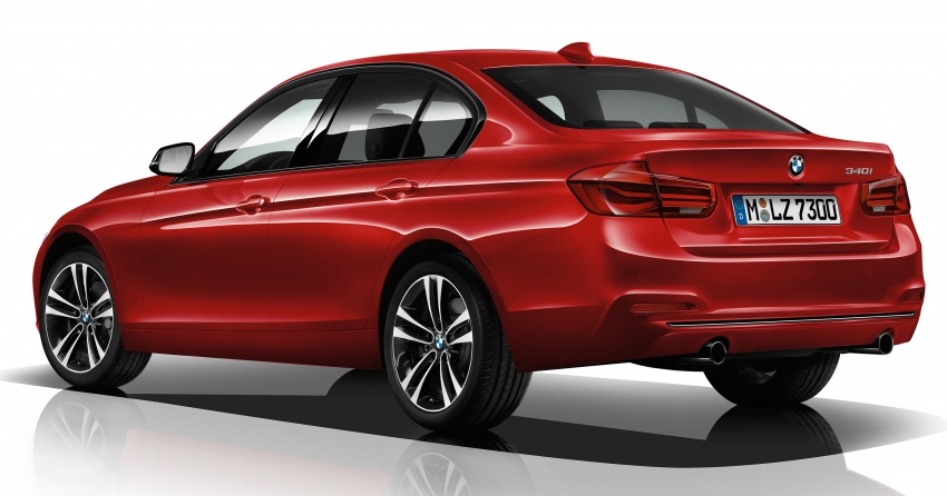 F30 BMW 3 Series enhanced, new edition models Image #657598