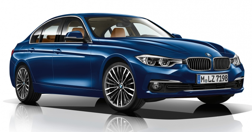 F30 BMW 3 Series enhanced, new edition models Image #657599