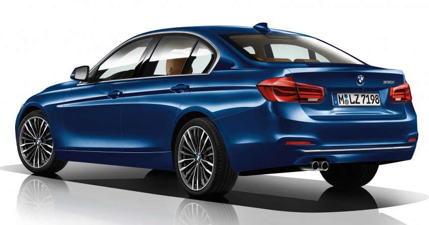 F30 BMW 3 Series enhanced, new edition models Image #657600