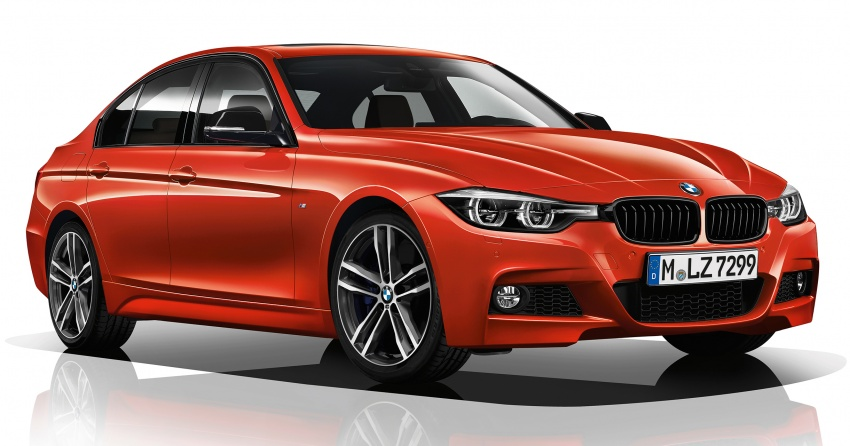 F30 BMW 3 Series enhanced, new edition models Image #657601