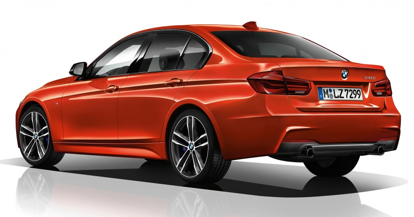 F30 BMW 3 Series enhanced, new edition models Image #657602